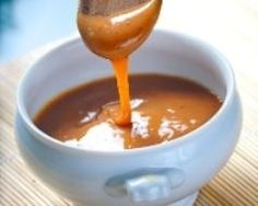 Coulis de caramel beurre salé (facile, rapide) - Une recette CuisineAZ