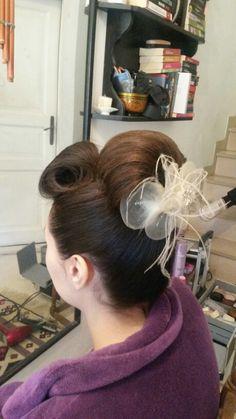 Bun hairstyles ,  brown hair , hairstyles 4 middle hair , bridal hair