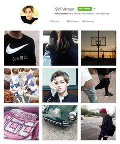 """""""IG SEVENTEEN: Vernon"""" by banana-lee ❤ liked on Polyvore featuring art"""