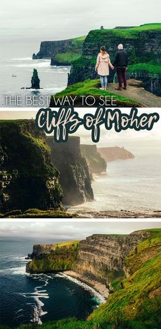 The best way to see the Cliffs of Moher in Ireland #beautifuldestinations #travelersnotebook Travel Tips | Travel Destinations | Europe Travel | Ireland Travel | Ireland things to do in | Ireland Road Trips | Cliffs of Moher