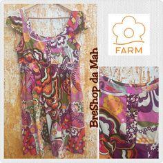 BreShop da Mah: Vestido Farm Estampado - até dia 10 por R$ 90,00 +...