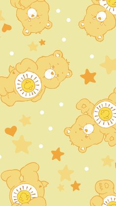Care Bear Cartoon Wallpaper Iphone, Bear Wallpaper, Homescreen Wallpaper, Mood Wallpaper, Cute Disney Wallpaper, Iphone Background Wallpaper, Aesthetic Pastel Wallpaper, Cute Cartoon Wallpapers, Kawaii Wallpaper