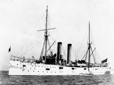 USS Montgomery (C-9) 1891 - 1918.  The USS Montgomery (C-9) was an unprotected cruiser in the United States Navy. Montgomery served during the Spanish-American War and in World War I, and was named for Montgomery, Alabama.  Montgomery was launched 5 December 1891 and decommissioned on May 16th, 1918.