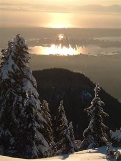 Mt. Seymour in Vancouver, Canada.