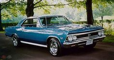 66' Chevelle.  #ChevyMuscle