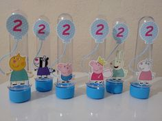 Tubete Personagens Peppa Pig