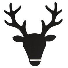 t tes de cerfs silhouette de t te de cerf and pochoir silhouette on pinterest. Black Bedroom Furniture Sets. Home Design Ideas