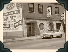 """Vintage Villa D'Carlo Italian Restaurant, a landmark of the Kenosha waterfront district for almost 50 years. Home of """"Carl's Famous Pizza"""" at 5140 Sixth Avenue ~ Kenosha, WI"""