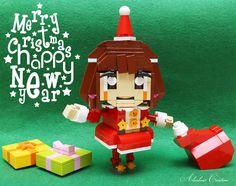 """LEGO Xmas Santa Girl"" by alanboar: Pimped from Flickr"