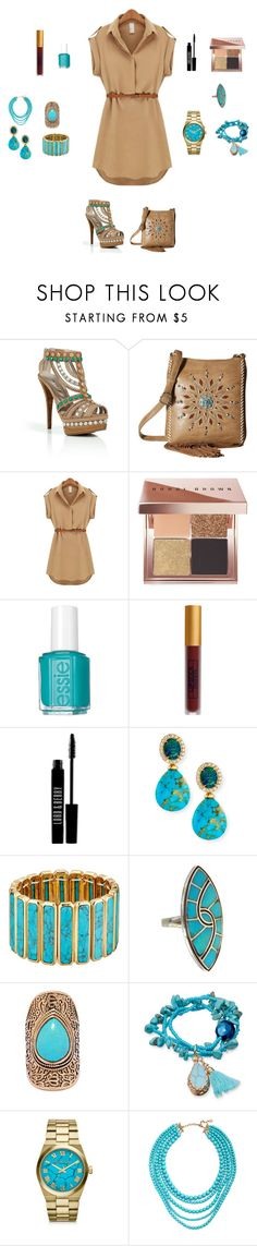 """""""like Pocahontas (Pocahontas)"""" by sky-memories ❤ liked on Polyvore featuring Le Silla, M&F Western, Bobbi Brown Cosmetics, Essie, Lipstick Queen, Lord & Berry, Rina Limor, Lauren Ralph Lauren, LULUS and Michael Kors"""