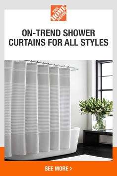 Blue Shower Curtains, Bathroom Curtains, Rustic Furniture, Furniture Design, Small Space Storage, Shower Accessories, Farmhouse Interior, Room Ideas Bedroom, French Country House