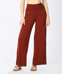 Elevate your lazy day looks with these flowy lounge pants designed with a smocked high-rise waistband and lightweight stretch blend offering all-day comfort. A solid hue offers effortless pairing with your favorite tees and tanks. Harem Pants, Pajama Pants, Lounge Pants, Smocking, Hue, Going Out, Jumpsuit, Dark, Dresses