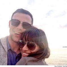 Lea Michele and Cory Monteith <3 RIP Cory