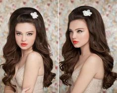 Cute Bridal Hairstyles for Long Hair