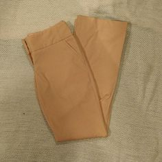 "NWOT The Limited Drew Fit Class Flare-31.5"" inseam NWOT The Limited Drew Fit Class Flare pant. Size 2. Professionally hemmed to a 31 1/2"" inseam ($15 value). Color is a light orange, almost peach. Flawless. These were never worn.  Please let me know if you have any questions. The Limited Pants Boot Cut & Flare"