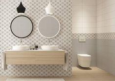černobílá dlažba koupelna - Hledat Googlem