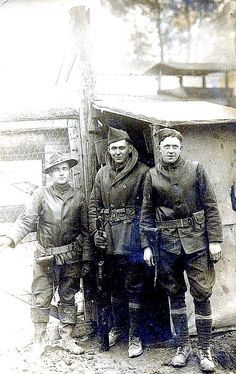 World War One, unnamed group of soldiers, France. ww1photos…