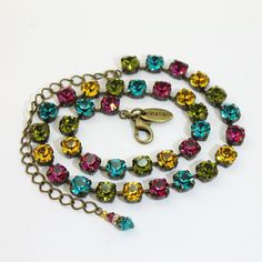 Teal Fuchsia Yellow Lime Green Hot Pink tennis by TIMATIBO on Etsy, $70.00