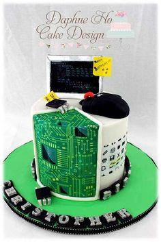 Cake Wrecks: Computer Cake by Daphne Ho Cake Design