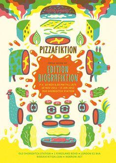 Pizzafiktion by Till Hafenbrak, via Flickr