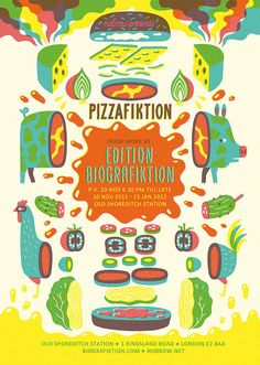 Pizzafiktion by Till Hafenbrak