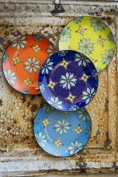 Handpainted Ceramic Plates