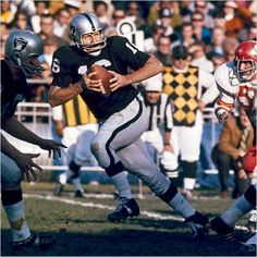George Blanda, Oakland Raiders  -  My dad's favorite football player.  I met him in 1968 at Ohare airport in Chicago.  -  Ken