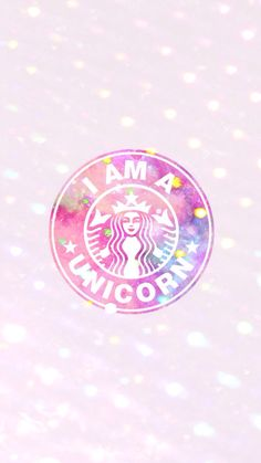 Starbucks be loved! Glitter Wallpaper Iphone, Unicornios Wallpaper, Pastel Wallpaper, Aesthetic Iphone Wallpaper, Wallpaper Backgrounds, Unicorn Wallpaper Cute, Wallpapers Rosa, Cute Wallpapers, Walpapper Tumblr