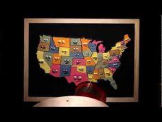 FUN States & Capitals song