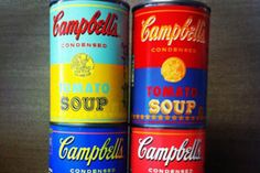Campbell's releasing limited-edition Andy Warhol inspired soup cans to celebrate the 50th anniversary of Warhol's infamous Campbell's soup can art.