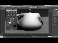Baking Ambient Occlusion Maps - 3DS Max - YouTube