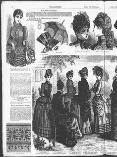 Gracieuse. Geïllustreerde Aglaja, 1885, aflevering 13, pagina 100