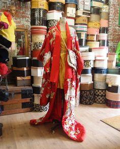 vintage kimono from CIRCA