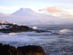 Jan Mayen, Norway. One of the most remote places on earth.