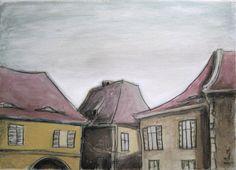 (un)intentional contemporary art in Transylvania: Sighisoara and Sibiu