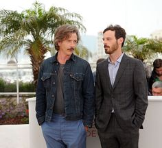 Ben Mendelsohn and Scoot McNairy pose at the KILLING THEM SOFTLY Photocall during the 65th Annual Cannes Film Festival at Palais des Festivals on May 22, 2012 in Cannes, France. (Photo Dominique Charriau) - Edited