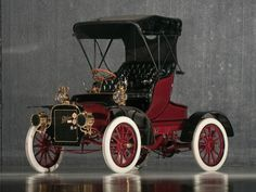 "1906 Cadillac Model K Light Runabout ~ Miks' Pics ""Era Automobiles l"" board @ http://www.pinterest.com/msmgish/era-automobiles-l/"