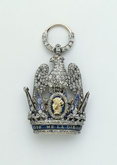 The Imperial Order of the Iron Crown, established June 5, 1805 by Napoleon Bonaparte (under his title of King Napoleon I of Italy).