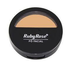 Pó Facial Ruby Rose HB 7200 - Cor - 14