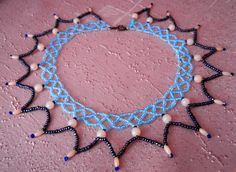 Free pattern for necklace Jenny Click on link to get pattern - http://beadsmagic.com/?p=7766