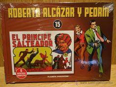 ROBERTO ALCÁZAR Y PEDRÍN. TOMO 15. EDITORIAL PLANETA - 2010 / PRECINTADO