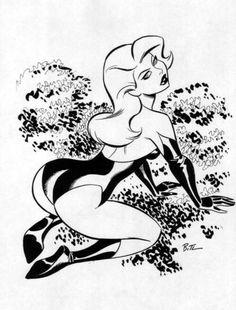 Darwyn Cooke & Bruce Timm — Poison Ivy by Bruce Timm Bruce Timm, Pin Up Drawings, Sexy Drawings, Drawing Sketches, Cartoon Kunst, Cartoon Art, Poison Ivy, Pin Up Zeichnungen, Dibujos Pin Up