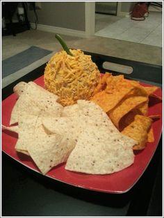 A Fiesta Rooibos Cheeseball, prepared by Michelle Revoy!