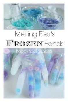 Frozen MELTING ELSA'S FROZEN HANDS