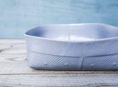 Keramikschale Gray diente Schale Obstschale Gray von FreeFolding