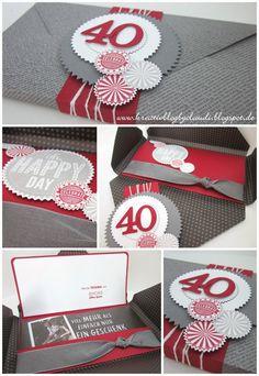 Geburtstagsbox zum 40. für einen Mann