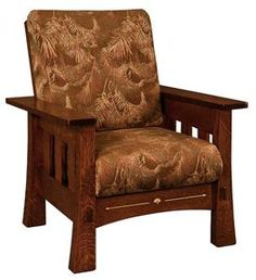 Amish Mesa Mission Lounge Chair