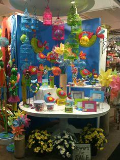 Spring Display from our Atlanta Showroom @AmericasMart Atlanta Summer 2013! #burtonandburton #spring