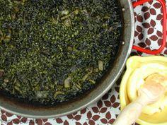 #arroceando arroz negro en #valenciaterraimar