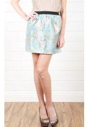Tea Time Floral Skirt